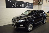 USED 2013 13 LAND ROVER RANGE ROVER EVOQUE 2.2 SD4 PURE TECH 5d 190 BHP 4X4 LANDROVER S/H - ONE PREVIOUS KEEPER - LEATHER - SAT NAV - HEATED SEATS