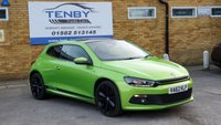 USED 2013 V VOLKSWAGEN SCIROCCO 2.0 R LINE TDI DSG BLUEMOTION TECHNOLOGY 2d AUTO 140 BHP