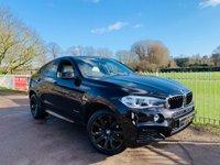 USED 2015 65 BMW X6 3.0 XDRIVE30D M SPORT 4d AUTO 255 BHP Ruby Black! Individual Leather! Harmon Kardon, 360 Camera, Euro 6!