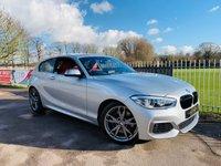 USED 2015 15 BMW 1 SERIES 3.0 M135I 3d AUTO 322 BHP Pro Nav, Red Leather, Adaptive LED! BMW Service History! Harmon Kardon!