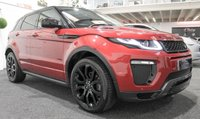 USED 2015 65 LAND ROVER RANGE ROVER EVOQUE 2.0 TD4 HSE DYNAMIC 5d AUTO 177 BHP **PAN ROOF+RED/BLACK LEATHER**