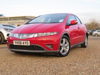 USED 2008 08 HONDA CIVIC 2.2 SE I-CTDI 5d 139 BHP