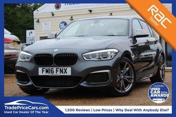 2016 BMW 1 SERIES 3.0 M135I 5d AUTO 322 BHP £18950.00