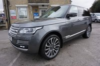 USED 2017 17 LAND ROVER RANGE ROVER 3.0 TDV6 VOGUE SE ( 22 INCH ALLOYS & PAN ROOF ) 2017 PLATE NEW MODEL RANGE ROVER VOGUE SE AUTO