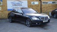 2009 MERCEDES-BENZ S CLASS 6.2 S63 AMG L 4d AUTO 518 BHP £18984.00