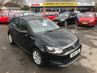 USED 2010 10 VOLKSWAGEN POLO 1.4 SE DSG 5 DOOR AUTOMATIC 85 BHP IN BLACK WITH ONLY 8000 MILES AND A FULLN VW SERVICE HISTORY. APPROVED CARS ARE PLEASED TO OFFER THIS  VOLKSWAGEN POLO 1.4 SE DSG 5 DOOR AUTOMATIC 85 BHP IN BLACK WITH ONLY 8000 MILES FROM NEW WITH A FULL VOLKSWAGEN SERVICE HISTORY (ALAN DAY VW) THE CARS IS IN GREAT CONDITION INSIDE AND OUT WITH SUCH A LOW MILEAGE ONE NOT TO BE MISSED.