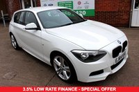 USED 2014 64 BMW 1 SERIES 2.0 116D M SPORT 5d 114 BHP +ONE OWNER +LOW TAX +SERVICED.