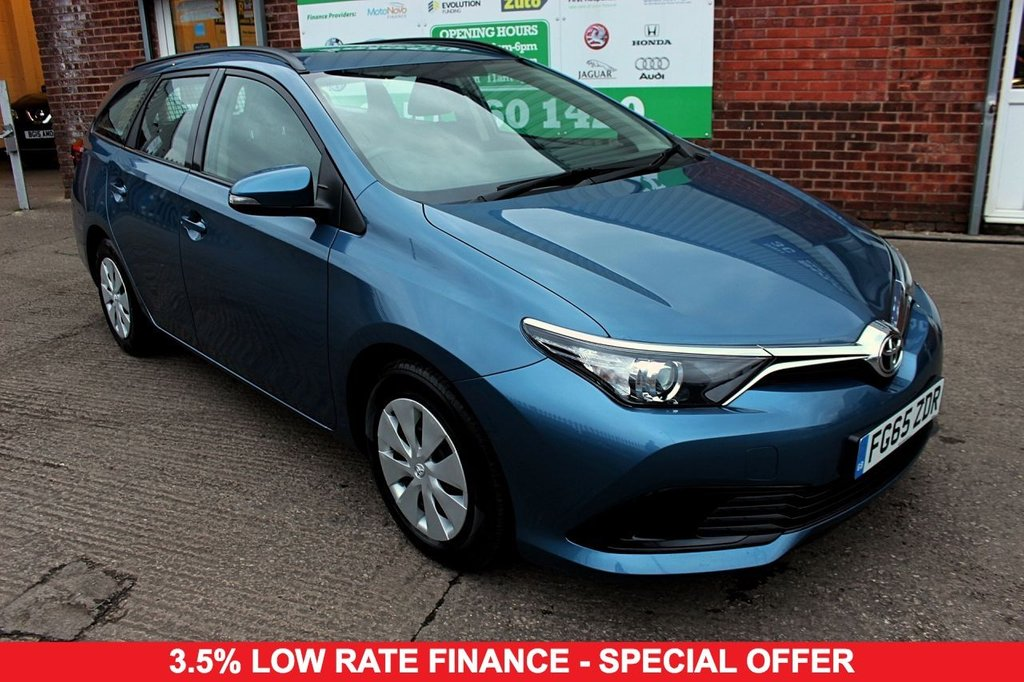 2015 65 TOYOTA AURIS 1.4 D-4D ACTIVE TOURING SPORTS 5d 89 BHP