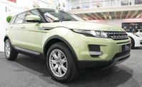 USED 2012 12 LAND ROVER RANGE ROVER EVOQUE 2.2 ED4 PURE 5d 150 BHP **PAN ROOF+COLIMA LIME**