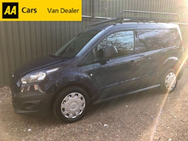 e915680699 USED 2014 64 FORD TRANSIT CONNECT 1.6 TDCi 200 74 BHP  BLAZER BLUE  ...