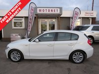 USED 2008 08 BMW 1 SERIES 2.0 118D M SPORT 5DR HATCHBACK DIESEL 141 BHP