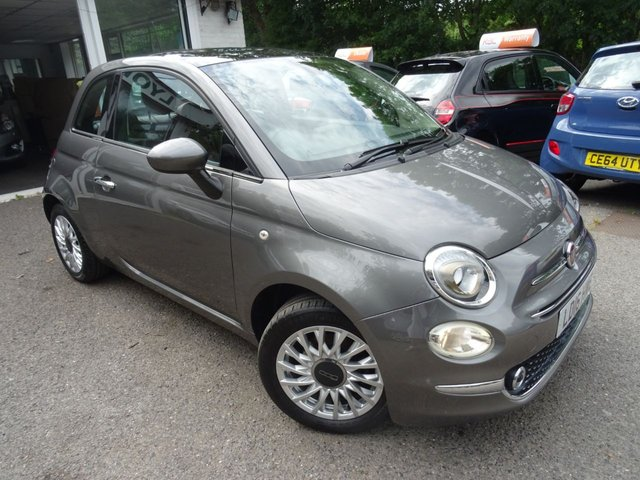 2016 16 FIAT 500 1.2 LOUNGE DUALOGIC 3d AUTOMATIC 69 BHP NEW SHAPE