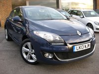 USED 2013 13 RENAULT MEGANE 1.6 DYNAMIQUE TOMTOM VVT 5d 110 BHP Navigation Tom Tom Bluetooth Cruise Control Full service History New MOT. Just serviced Panoramic Sunroof