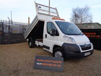 USED 2012 62 CITROEN RELAY TIPPER 2.2 35 L2 HDI 2d 130 BHP