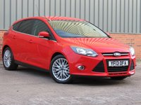 USED 2013 13 FORD FOCUS 1.0 ZETEC 5d 124 BHP FANTASTIC CONDITION WITH FORD APPEARANCE PACK