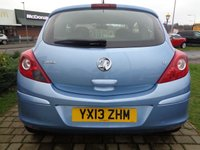 USED 2013 13 VAUXHALL CORSA 1.2 ENERGY AC 3d 83 BHP **1 Owner Low Mileage Full Vauxhall Service History 12 Months Mot**