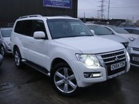 USED 2014 64 MITSUBISHI SHOGUN 3.2 DI-D SG4 5d AUTO 197 BHP ANY PART EXCHANGE WELCOME, COUNTRY WIDE DELIVERY ARRANGED, HUGE SPEC