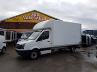 USED 2015 65 VOLKSWAGEN CRAFTER LUTON + TAILIFT L.W.B 3500 KG TONNER SEPT 2015/65 REG  ( VW CRAFTER L.W.B LUTON + TAILIFT 2015/65 REG )