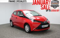 USED 2015 65 TOYOTA AYGO 1.0 VVT-I X 5DR 69 BHP 1 OWNER FREE ROAD TAX SERVICE HISTORY + FREE 12 MONTHS ROAD TAX + AIR CONDITIONING + RADIO/CD/AUX/USB + ELECTRIC WINDOWS