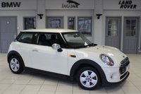 USED 2015 65 MINI HATCH COOPER 1.5 COOPER D 3d 114 BHP FINISHED IN STUNNING PEPPER PACK WITH CARBON BLACK CLOTH SEATS + SERVICE PACK UNTIL OCTOBER 2020 + FREE ROAD TAX + PEPPER PACK 2 + 1 OWNER + MINI EXITEMENT PACKAGE + DAB RADIO + BLUETOOTH + REAR PARKING SENSORS + AUTOMATIC AIR CONDITIONG...
