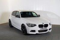 2012 BMW 1 SERIES 2.0 120D M SPORT 5d 181 BHP £9982.00
