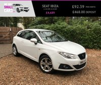 USED 2011 61 SEAT IBIZA 1.4 SE COPA 3d 85 BHP 1 LOCAL LADY OWNER LOW MILES SERVICE HISTORY RARE CAR BESTCOLOUR