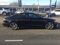2015 AUDI A6 2.0 TDI ULTRA S LINE BLACK EDITION 4d AUTO 188 BHP £19977.00
