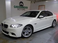 USED 2014 14 BMW 5 SERIES 3.0 530d M Sport 4dr Auto