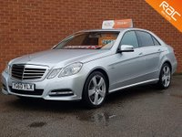 2010 MERCEDES-BENZ E-CLASS 2.1 E250 CDI BLUEEFFICIENCY AVANTGARDE 4d 204 BHP £SOLD