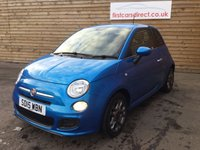 2015 FIAT 500 1.2 S 3d 69 BHP £5799.00
