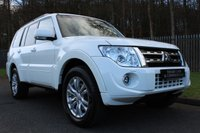 USED 2012 61 MITSUBISHI SHOGUN 3.2 DI-D SG3 5d AUTO 197 BHP A STUNNING HIGH SPEC, LOW MILEAGE SHOGUN WHICH IS NOT TO BE MISSED!!!