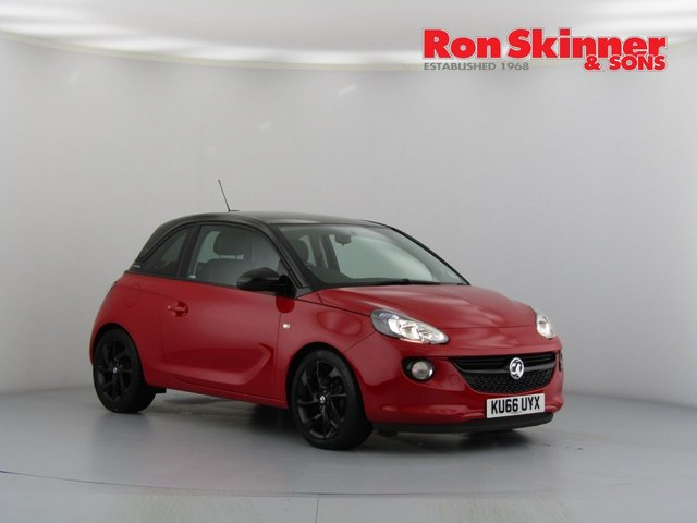 View our 2017 66 VAUXHALL ADAM 1.2 ENERGISED 3d 69 BHP