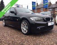 USED 2012 61 BMW 3 SERIES 2.0 320D M SPORT 4d AUTO 181 BHP
