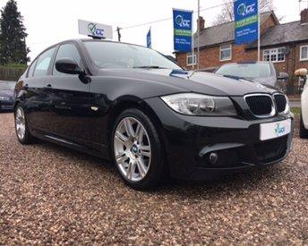 2012 BMW 3 SERIES 2.0 320D M SPORT 4d AUTO 181 BHP £12595.00