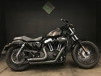 2014 HARLEY-DAVIDSON XL 1200 X FORTY EIGHT 15. ABS. 4803 MILES. STAGE 1. 2014. ALARM  £8399.00