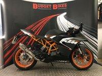 2016 KTM RC 125 125cc RC 125  £2790.00