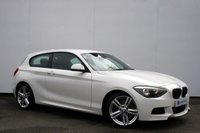 "USED 2012 62 BMW 1 SERIES 2.0 118D M SPORT 3d AUTO 141 BHP GREAT SERVICE HISTORY, 18"" ALLOY WHEELS"