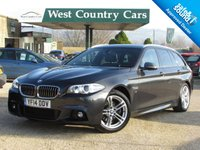 USED 2014 14 BMW 5 SERIES 2.0 520D M SPORT TOURING 5d AUTO 181 BHP Low Running Costs