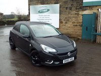 USED 2016 65 VAUXHALL CORSA 1.4 LIMITED EDITION 3d 89 BHP One Owner Full Service History