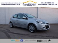 USED 2011 11 RENAULT CLIO 1.1 DYNAMIQUE TOMTOM 16V 3d 75 BHP Service History SATNAV Air Con Buy Now, Pay Later Finance!