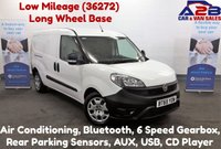 2016 FIAT DOBLO 1.6 16V MULTIJET, Long Wheel Base, Low Mileage (36272) Air Conditioning, Bluetooth, Rear Parking Sensors £6780.00