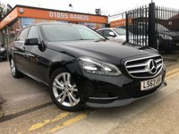 2013 MERCEDES-BENZ E CLASS 2.1 E220 CDI SE 4d AUTO 168 BHP £12499.00