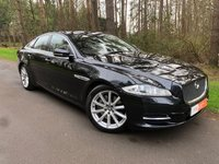 USED 2011 61 JAGUAR XJ 3.0 D V6 LUXURY SWB 4d 275 BHP FULL SERVICE HISTORY - BEIGE HEATED ELECTRIC LEATHER - NAVIGATION - BLUETOOTH PHONE/AUDIO - SUNROOF - 19' ALLOY WHEELS