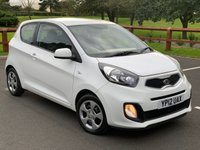 USED 2012 12 KIA PICANTO 1.0 1 3d 68 BHP FULL SERVICE HISTORY, 1 OWNER, RADIO CD, ELECTRIC WINDOWS, CENTRAL LOCKING 12 MONTH MOT