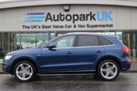 USED 2014 64 AUDI Q5 2.0 TDI QUATTRO S LINE PLUS S/S 5d 175 BHP LOW DEPOSIT OR NO DEPOSIT FINANCE AVAILABLE