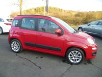 USED 2012 12 FIAT PANDA 1.2 LOUNGE 5d 69 BHP FULL SERVICE HISTORY, AIR CONDITIONING, ALLOY WHEELS, ELECTRIC WINDOWS, CENTRAL LOCKING