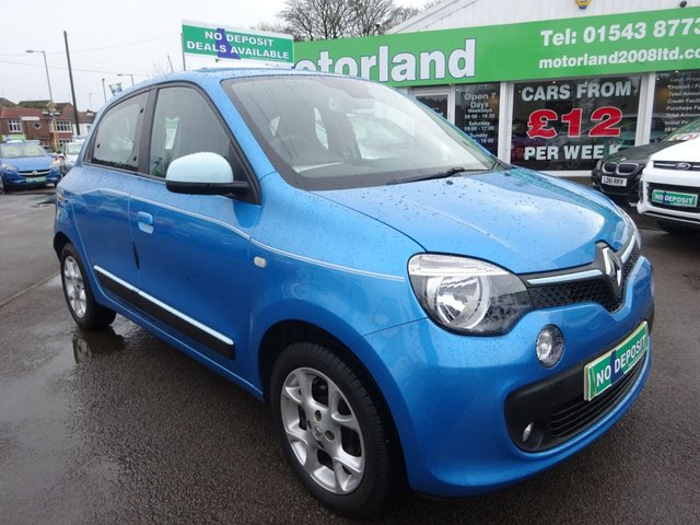 USED 2015 15 RENAULT TWINGO 1.0 DYNAMIQUE SCE S/S 5d 70 BHP ***JUST ARRIVED...TEST DRIVE TODAY***NO DEPOSIT DEALS