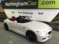 2016 BMW Z4 2.0 Z4 SDRIVE20I M SPORT ROADSTER 2d AUTO 181 BHP £19995.00
