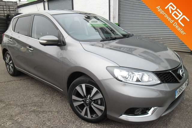 USED 2016 66 NISSAN PULSAR 1.2 TEKNA DIG-T XTRONIC 5d AUTO 115 BHP VIEW AND RESERVE ONLINE OR CALL 01527-853940 FOR MORE INFO.