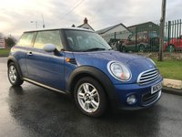 2012 MINI HATCH ONE 1.6 ONE pepperpack full Mini history 1 owner you wont find a cleaner one  £6295.00